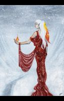 Fire and Ice by FynnMitsuki