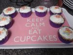 Keep Calm, It's Cupcake Time! by TheMangaNinja