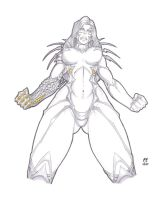 WitchBlade_ Comic_ Version by daikkenaurora