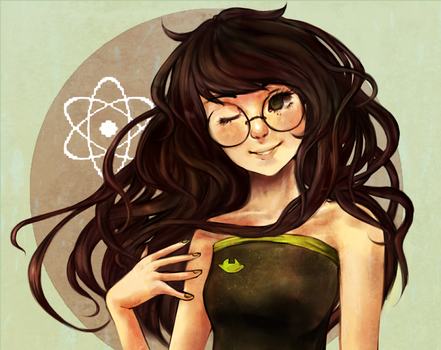 track art contest: Jade Harley by xBlackMelody