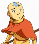 Aang - The Fortuneteller by IslandWriter