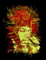 Jimi Hendrix T-Shirt Idea by amhaley