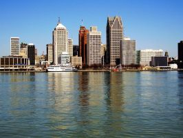 Obligatory Daytime Detroit by Pentacle5