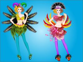 Carnival Dress Up Game by ziziminigames