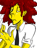 Sideshow Bob: Young and Passe by XxDreamsToRealityxX