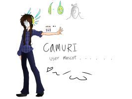 Mascot for myself(color version) by CAMURI2233