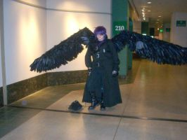 Dark with wings opened by Im-ur-misconception