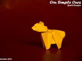 Oru Simple Ours - Barth Dunkan by Barth-Dunkan