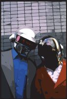 daft punk by taylorsq