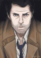 Castiel by applejaxshii