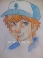 Dipper Pines (my version) by JRockSunako