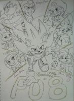 Cover_Sonic XD_Power of 8_PO8 by LoonataniaTaushaMay