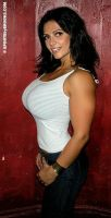 buff Denise Milani by cribinbic