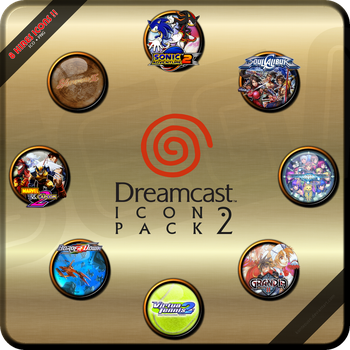 Dreamcast Icon Pack #2 by kontxouso