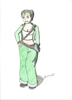 Jade (From Beyond Good And Evil) by small972