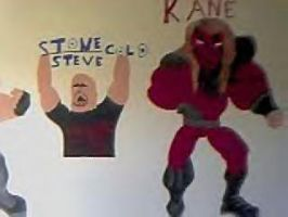 wwf wall painting part 3 by dragon3166