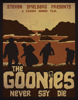 The Goonies Vector Poster by SamRAW08