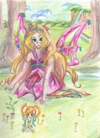 Enchantix Flora and Chatta by LesFromages