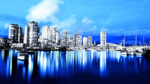 Blue City by barefootink