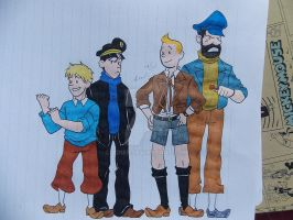 Why I don't draw Tintin by Ad1er