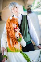 Wolf and Apple, Spice and Wolf Cosplay by firecloak