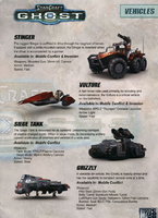 Starcraft Ghost Vehicles by ZergRex