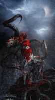 The blood trail ... by ArtzIGOR