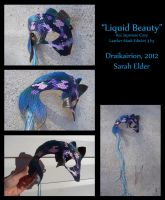 Liquid Beauty - Leather Koi Mask by Draikairion