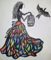 Stained Glass Dress by JustNoelia
