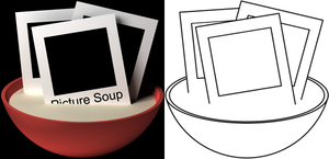 Picturesoup rejected logo by QOAL