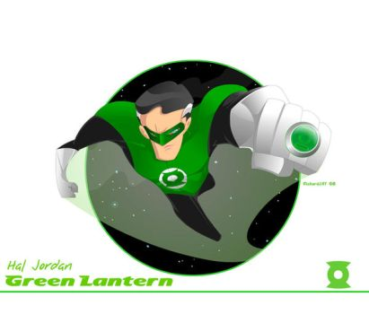 Animated Hal_Green Lantern by the-tracer