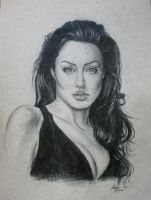 Angelina Jolie by Monireh01
