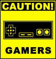 Gamers Grrrrrrrrrr by TheSciFiArtisan