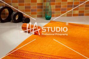 Coloured Towel by Hastudio