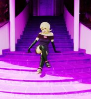 Roxy Lalonde - Knitted Dress by AlinaJames