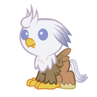 Baby Silver Quill - Vector by Firefall-MLP