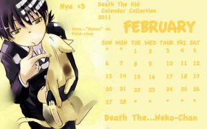 Death the Kid February by nejitenrenamy