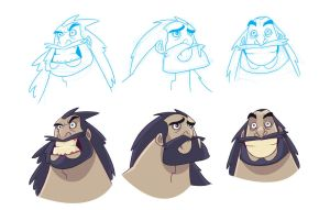 Caveman expressions by cesarvs