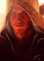 Captain Kenway speedpaint by jodeee