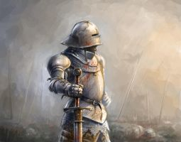 15th Century Knight by Skvor