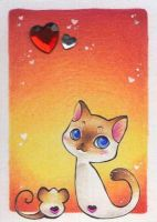 True Love - ACEO 197 by Arthay