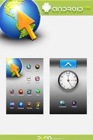 Google Android OS Icons by dstyler