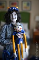 Nepeta and Lil' Cal by FarorePhotography