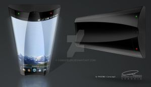 Gphone Concept by cgmodeler