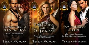 Jewels of the Desert Trilogy by CoraGraphics