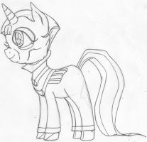 Frollo Pony Concept Art by yami0815