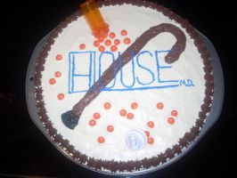 House Cookie Cake by Edward-Cullen1973