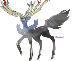 Request - Xerneas by The-Real-Shaydee