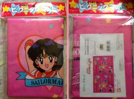 Sailor Moon SuperS Group Pikuniku Matto Picnic Mat by hollystarlightanime