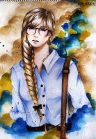 Braids and Glasses by ffdiaries958